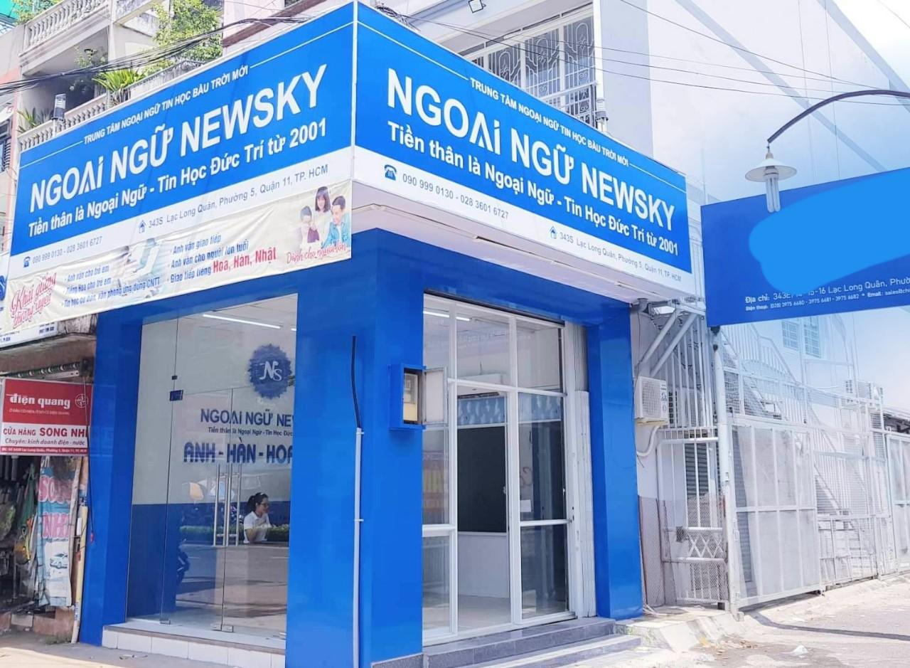 Trung tâm Ngoại Ngữ NewSky cơ sở Lạc Long Quân
