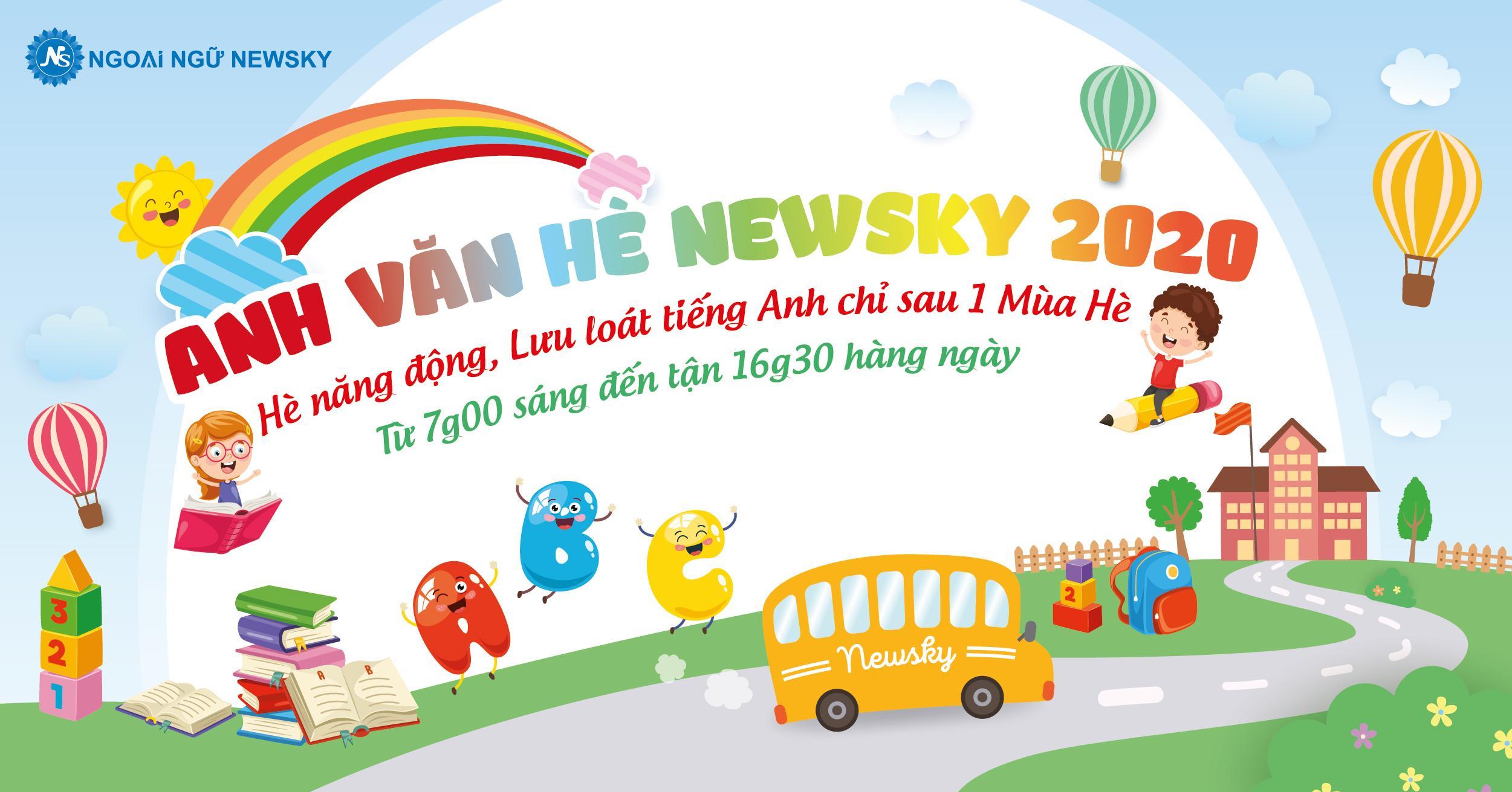 Popup Anh Văn Hè NewSky 2020