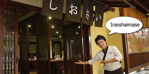 Từ Vựng tiếng Nhật trong Nhà Hàng