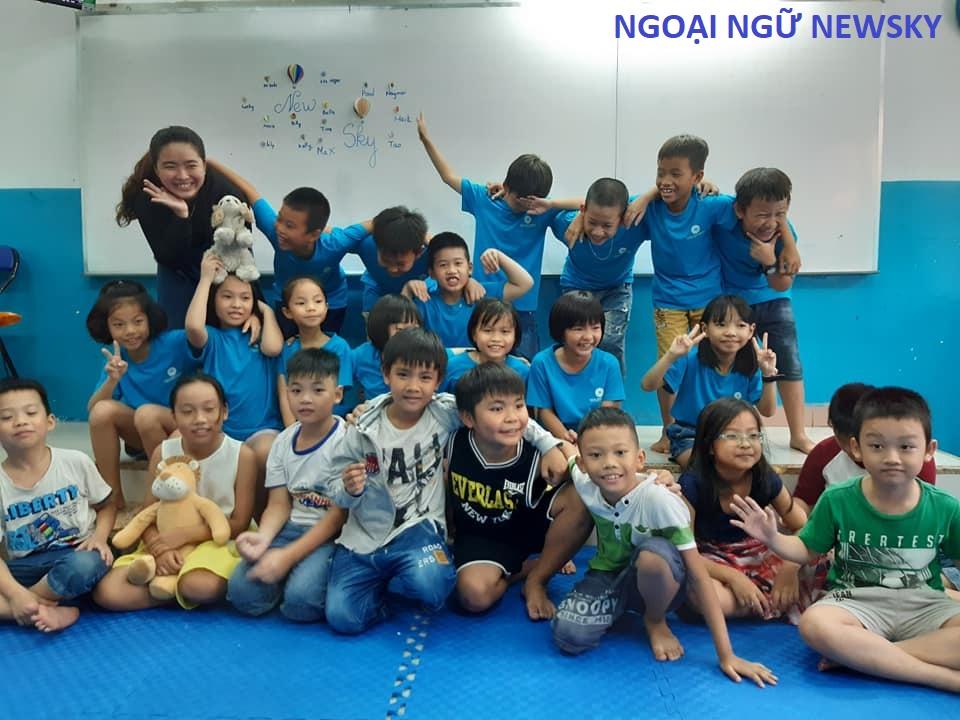 Trung tâm dạy tiếng Anh cho Trẻ em Quận Tân Bình
