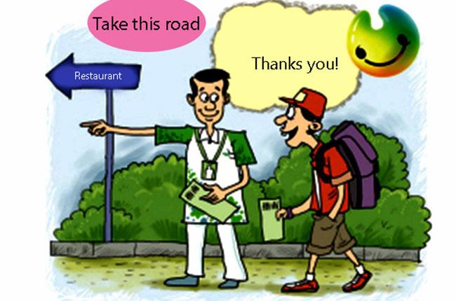 Một số cách hỏi đường và chỉ đường trong tiếng Nhật