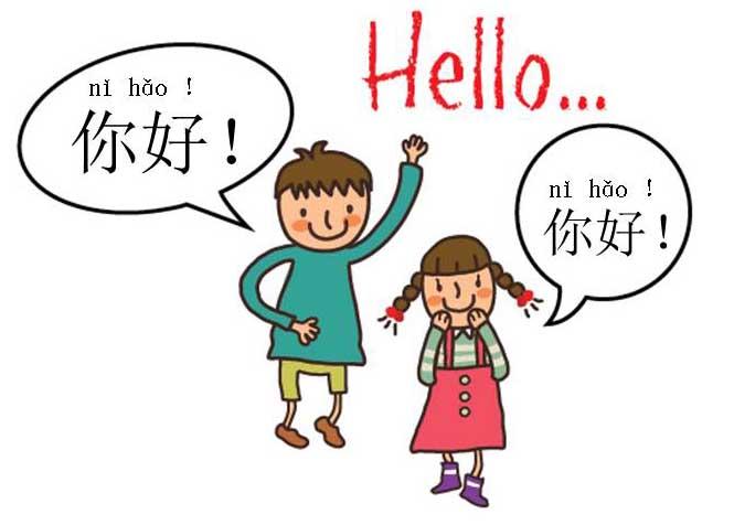 Kết quả hình ảnh cho chào hỏi tiếng Trung