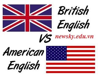 Sự khác nhau trong phát âm của Anh- Anh và Anh- Mỹ
