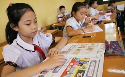 day tiếng Anh tiểu học