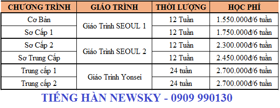 hoc-phi-tieng-han-quan-thu-duc-newsky