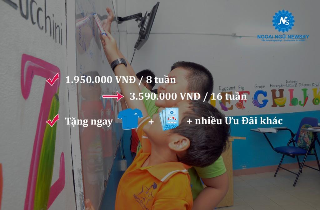 Học phí tiếng Trung cho Trẻ em