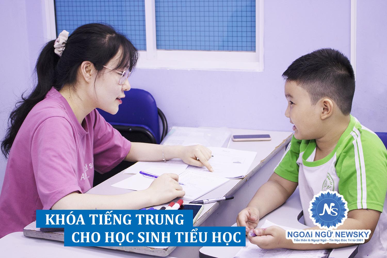 Khóa tiếng Trung cho Học Sinh Tiểu Học