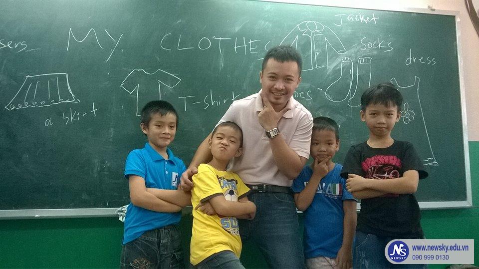 Lớp học Anh văn hè Bán trú tại NEWSKY