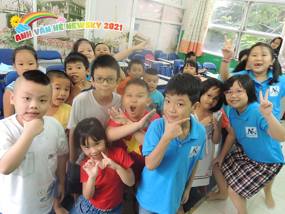 Một lớp học Hè Bán Trú tại NewSky