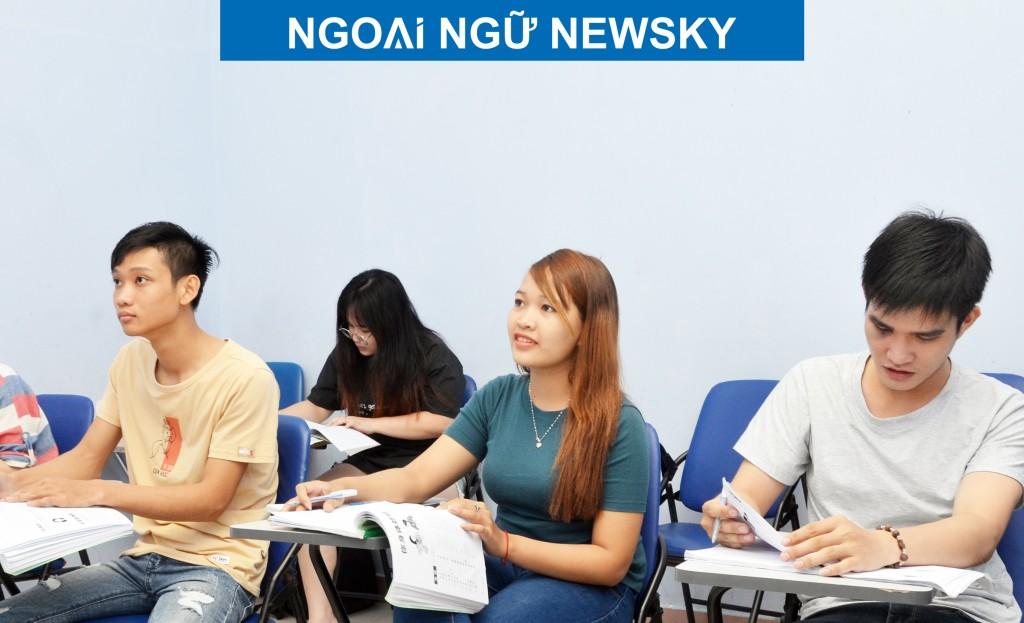 Một lớp học tiếng Trung ở quận Thủ Đức