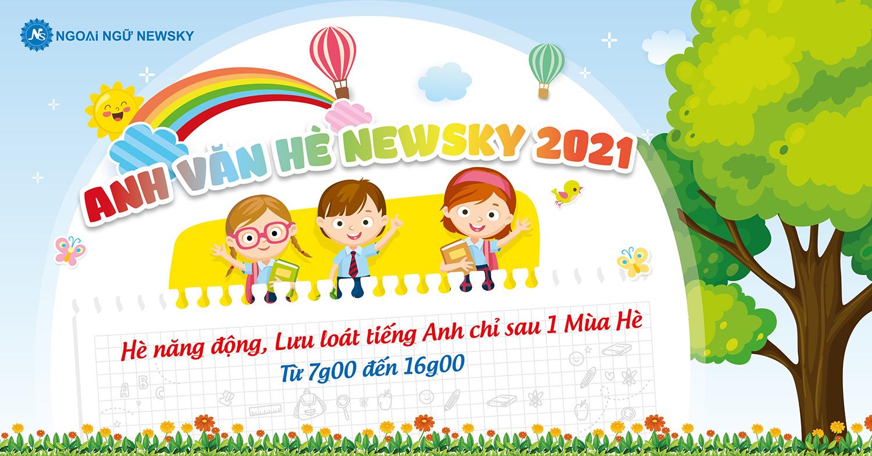 Popup Anh Văn Hè NewSky 2021