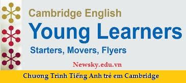 tiếng Anh trẻ em Cambridge