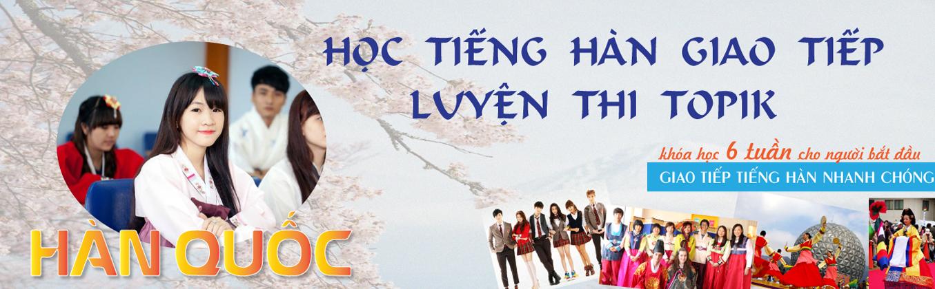 Trung tâm học tiếng Hàn TpHCM