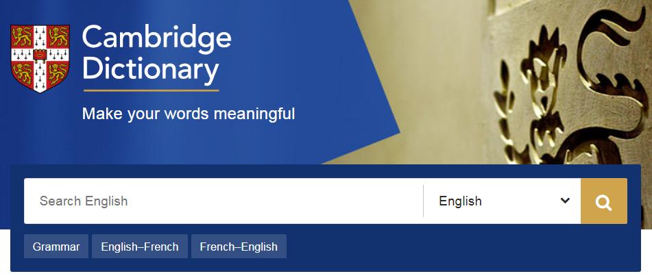 Top 10 Từ Điển Online học tiếng Anh tốt nhất