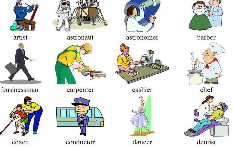 100 Nghề Nghiệp phổ biến trong tiếng Anh