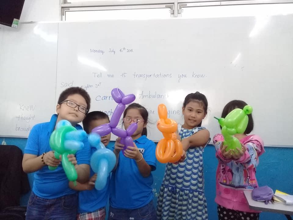 ANH VĂN HÈ BÁN TRÚ cho trẻ em tại quận 9