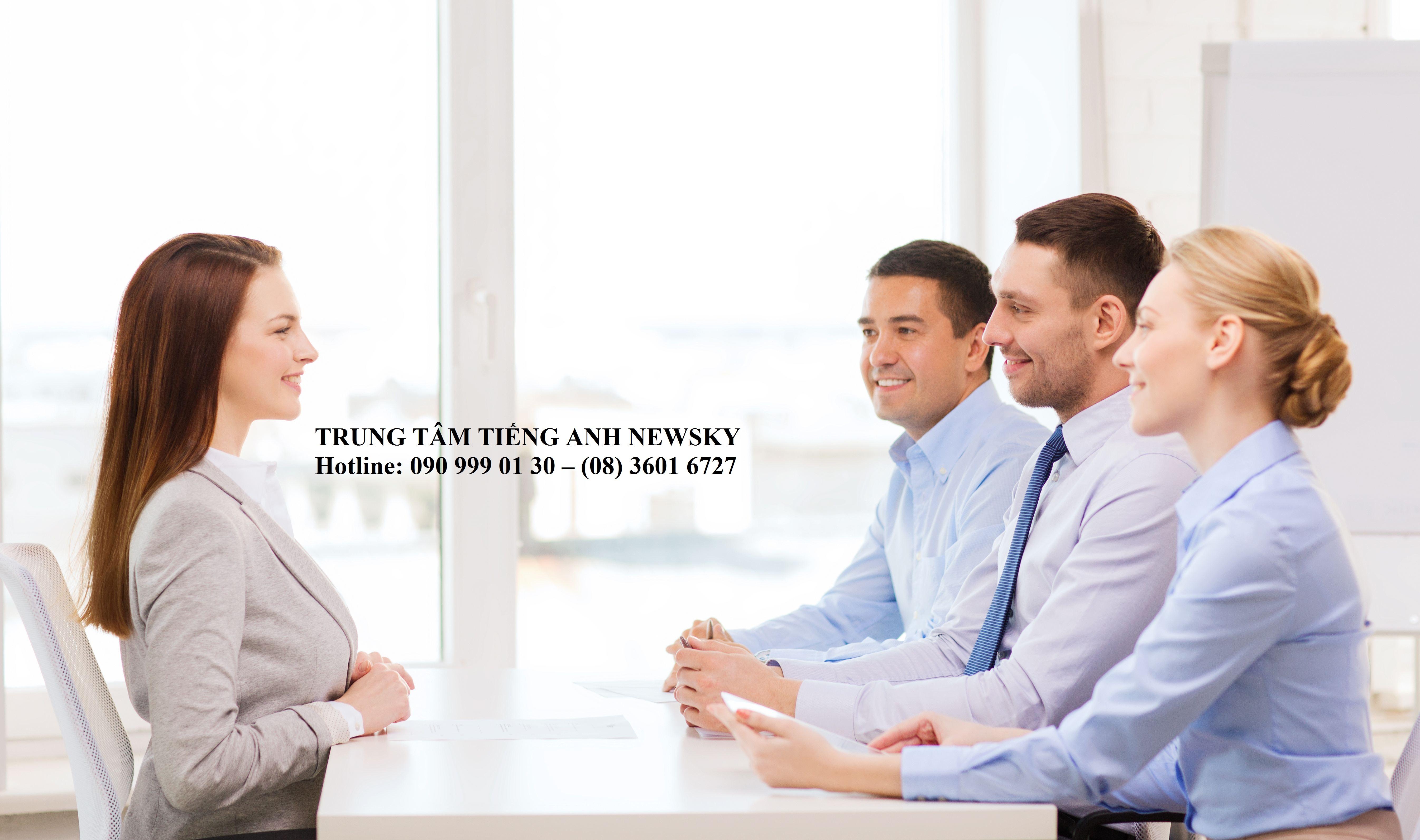 Một số câu hỏi thường gặp khi phỏng vấn bằng Tiếng Anh