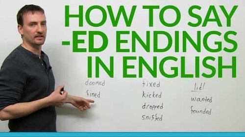Cách phát âm đuôi '-ed' trong Tiếng Anh