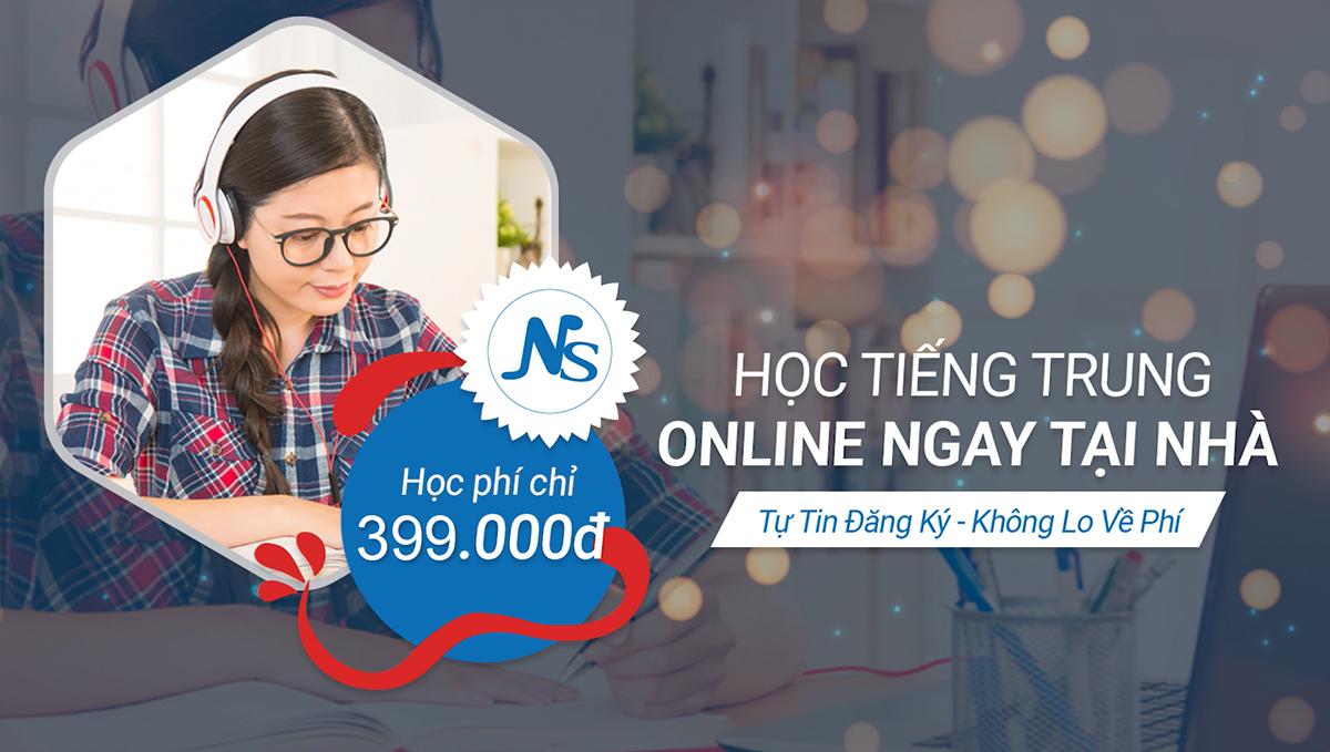 Học phí các lớp tiếng Trung Online bao nhiêu?