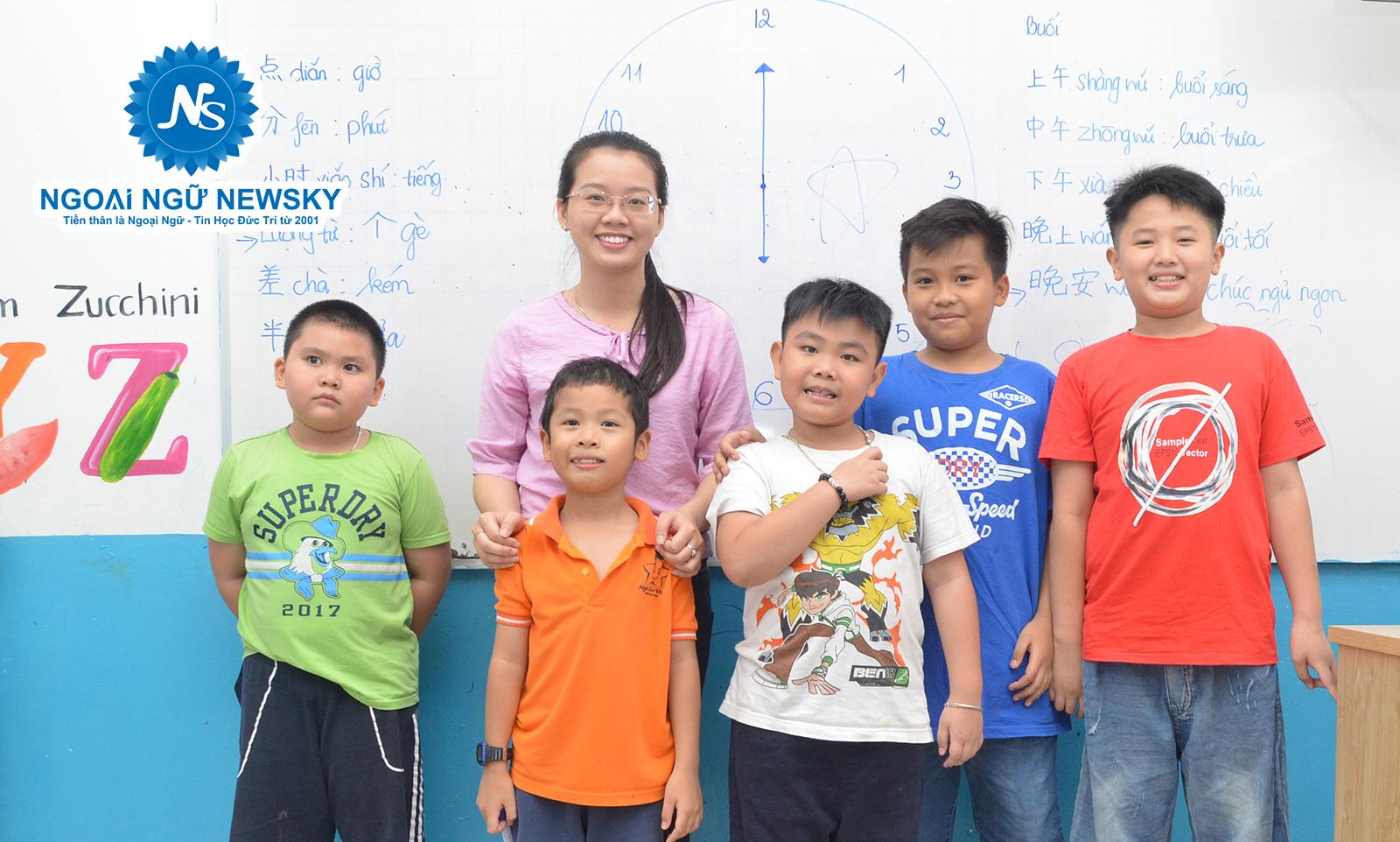 Khóa học tiếng Trung dành cho Trẻ Em quận Tân Bình