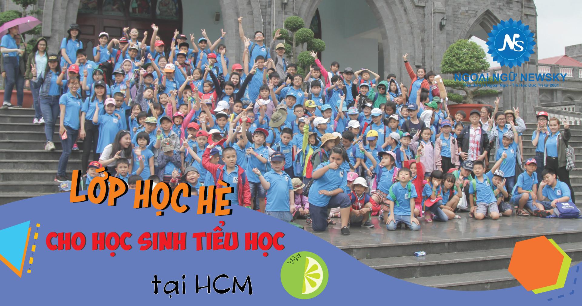 Lớp học hè cho học sinh tiểu học TpHCM