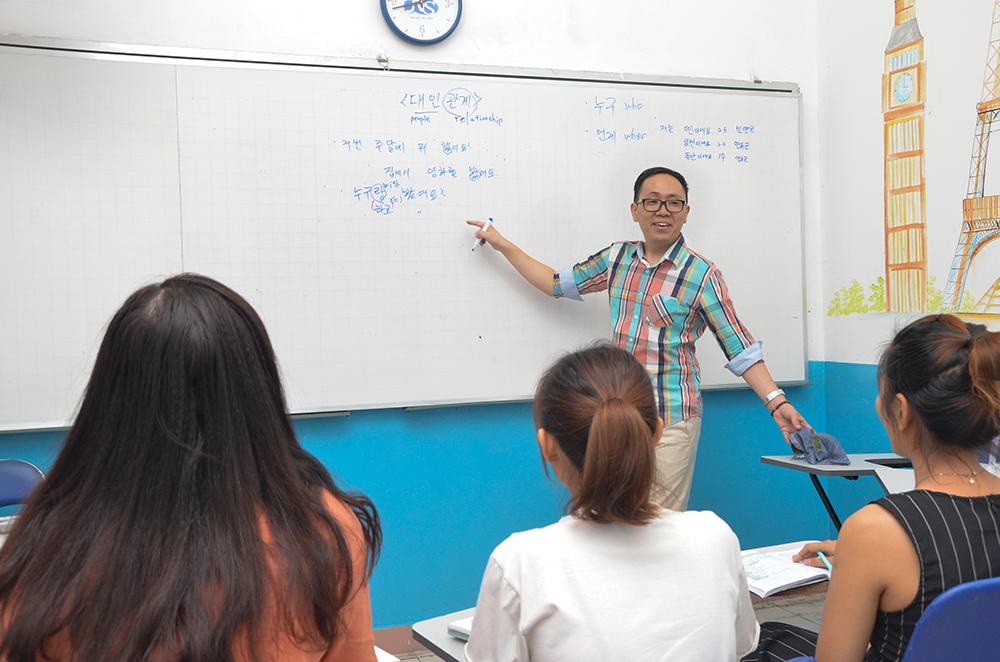 Trung tâm học tiếng Hàn tại quận Thủ Đức tốt nhất